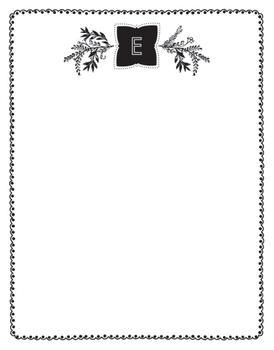 Botanical Monogram