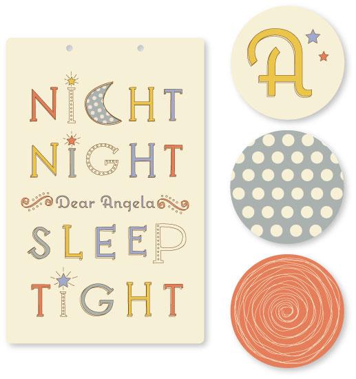 room decor - Sleepy Time by Karina Padilla-Robinson