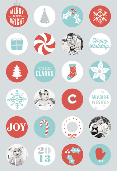 gift wrap - Holiday Icons by Hooray Creative