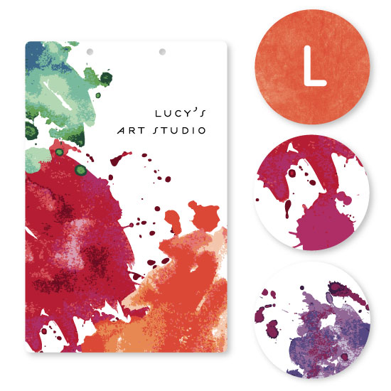room decor - Art Studio by Fig and Cotton