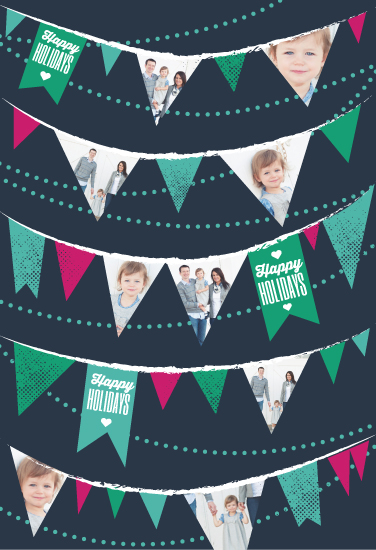 gift wrap - happy holiday banner by Paper Rose