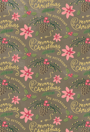 gift wrap - Christmas Bells are Ringing Wrap by Chris Griffith
