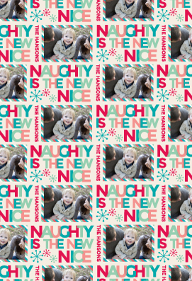 gift wrap - Naughty by Lindsay Kivi
