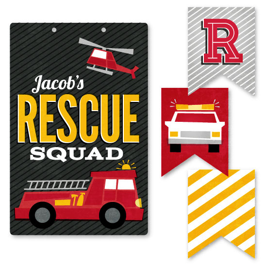 room decor - Rescue Squad by Jessie Steury