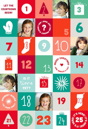 gift wrap - Countdown by Kelly Ventura