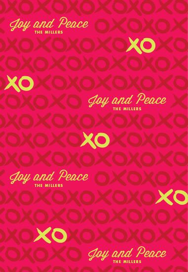gift wrap - XOXO by Shari Margolin