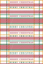 Christmas Plaid by Joel Rabina