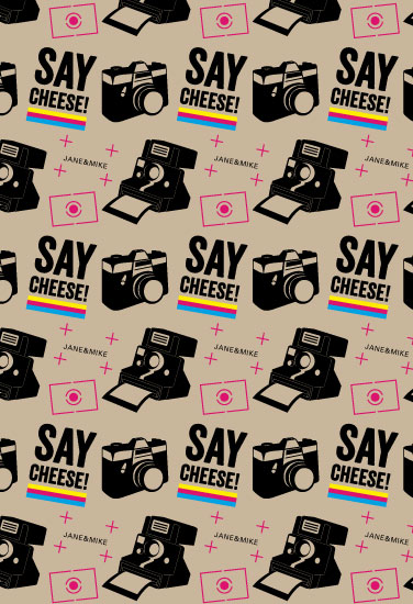 gift wrap - Say Cheese ! by iamtanya