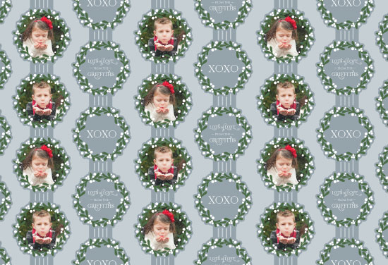 gift wrap - Lots of Love Mistletoe by Red Hare Creative