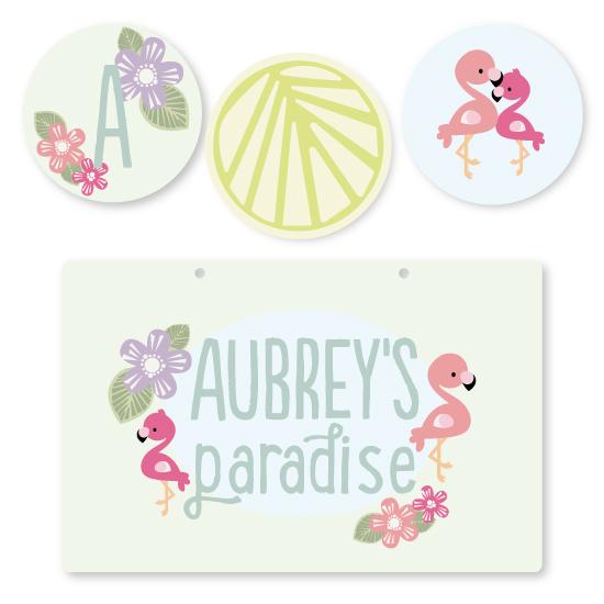 room decor - Flamingo's Paradise by Adriane