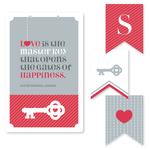 Key to Happiness by Red Hare Creative