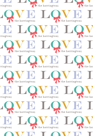gift wrap - Holiday Love by Kimberly FitzSimons