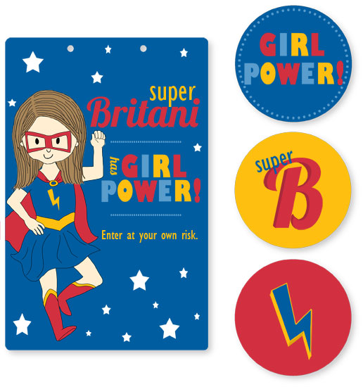 room decor - Girl Power by Stacey Montgomery
