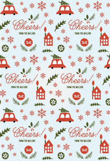 gift wrap - Holiday Fun by Olivia Raufman