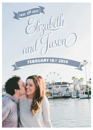 save the date cards - Lots of Banners by Kelly Mills