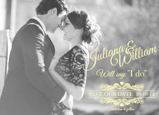 save the date cards - Sunny by Lindsay Kivi