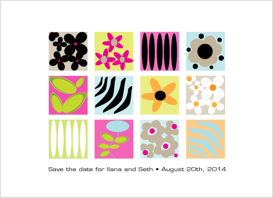 save the date cards - Marimekko for today by Carole Weitz