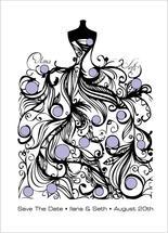 Polka Dot Paisley by Carole Weitz