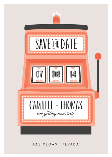 save the date cards - Lucky in Love by Erica Krystek