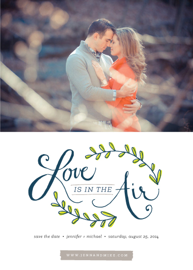 save the date cards - In the Air by Morgan Newnham