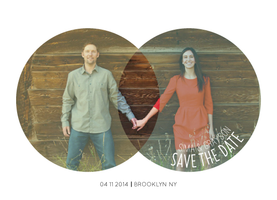 save the date cards - Lovenn Diagrams by Caitlin Rolls