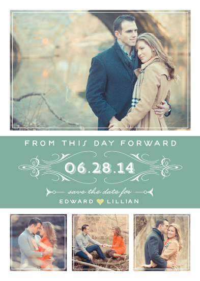 save the date cards - From This Day by Social Grace