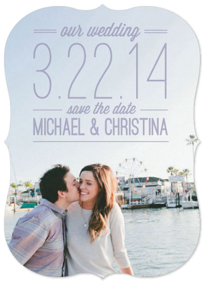 save the date cards - Pastel Love by Erin England