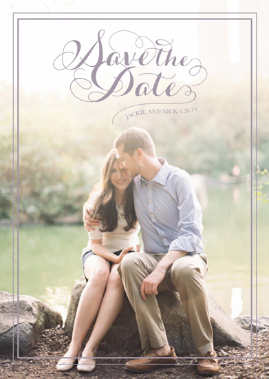 save the date cards - Breeze of Love by Andrea Castek