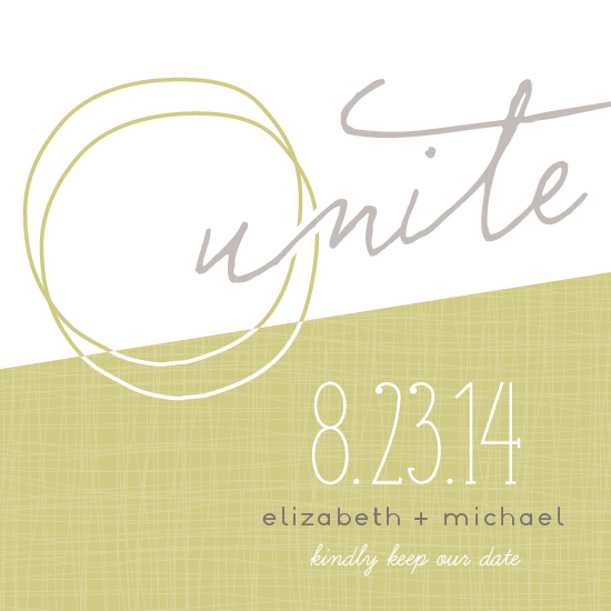 save the date cards - Unite Circles by Social Grace