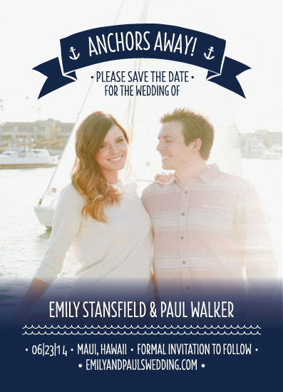 save the date cards - Anchors Away by itsjensworld