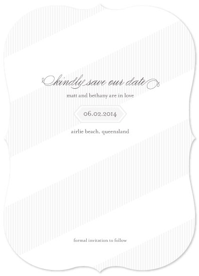 save the date cards - summer whites by gracegraceface