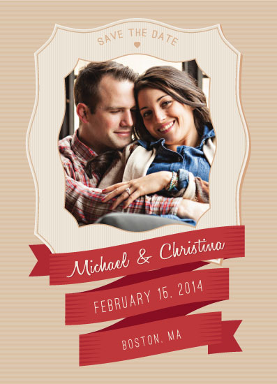 save the date cards - Sweetheart Chic by Erin England