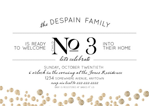 baby shower invitations - The New Addition by Kelli Despain