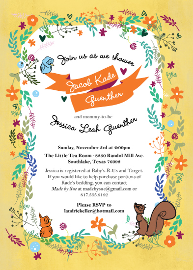 Baby Shower Invitations Golden Book At Minted Com