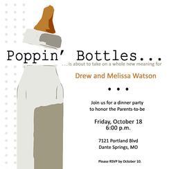 Poppin' Baby Bottles