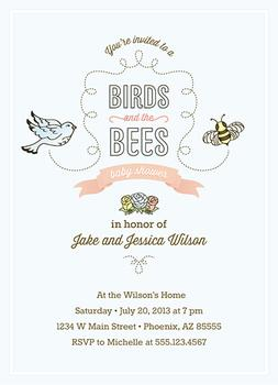 Birds and the Bees Baby Shower