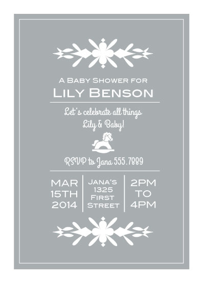 baby shower invitations - All Things Baby by Suzanne MK