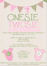 Onesie Twosie by KJ Paperie