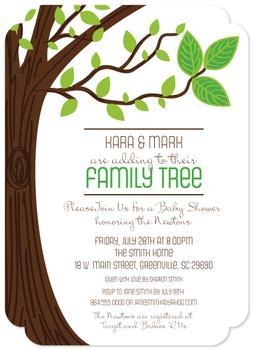 Family Tree Baby Makes Three