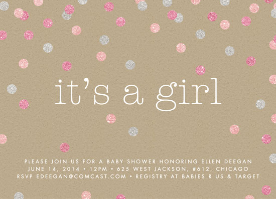 baby shower invitations  glitter baby at minted, Baby shower