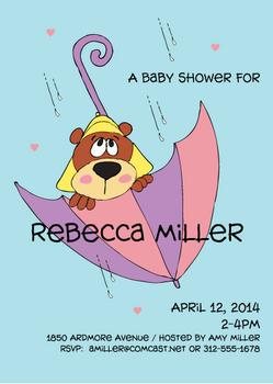 Forecast Calls For Baby Shower
