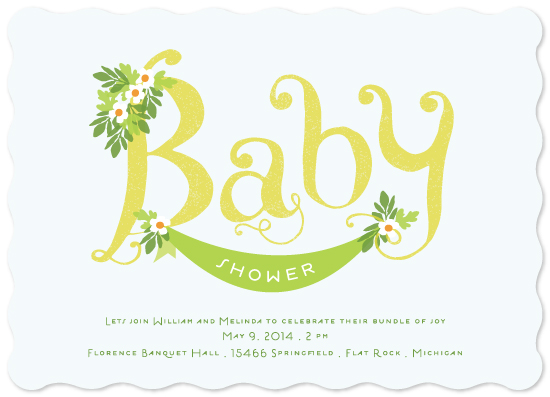baby shower invitations - Baby Showers by Dreaming Inspirations