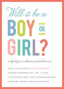 will it be a boy or girl?