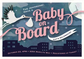 Baby on Board Skyline