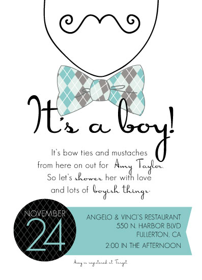 Baby shower invitations its a boy mustache at minted baby shower invitations its a boy mustache by nuts and bolts paper co filmwisefo