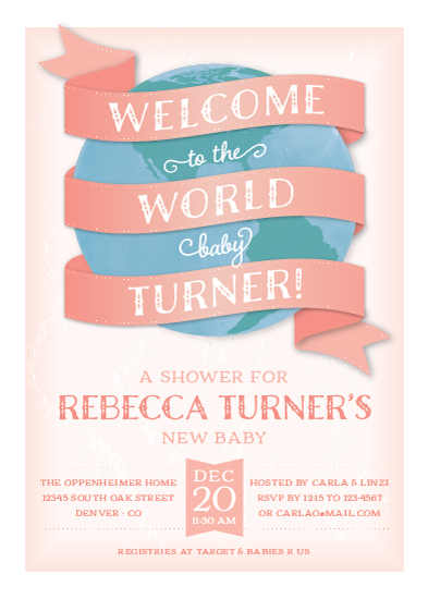 Minted Baby Shower Invitations with amazing invitation template