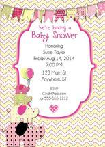 Baby Shower Invite by Robin Sampson