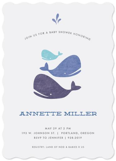 baby shower invitations - Splish Splash by Becca Thongkham