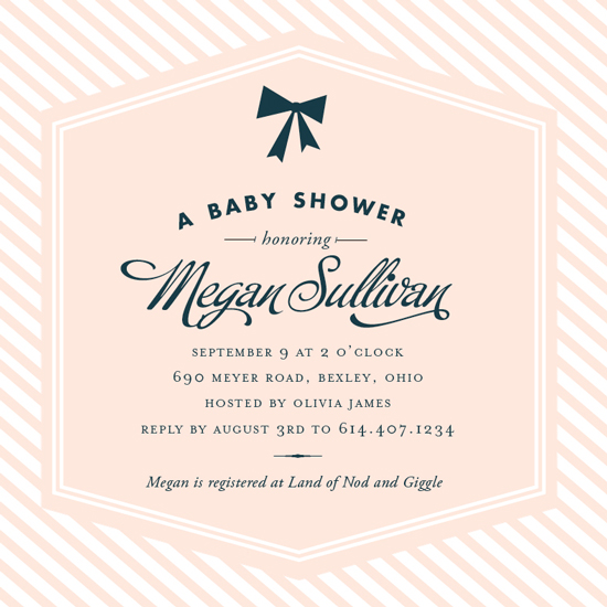 baby shower invitations - Sweet Petite by Oscar & Emma