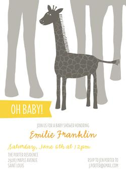 Oh Baby! Giraffe